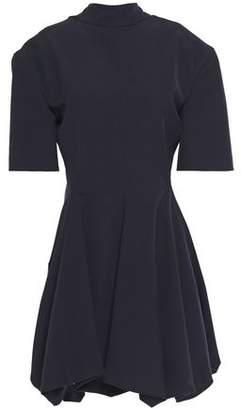 Jil Sander Gathered Woven Mini Dress