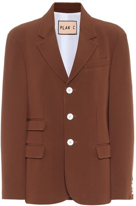 Plan C Single-breasted blazer