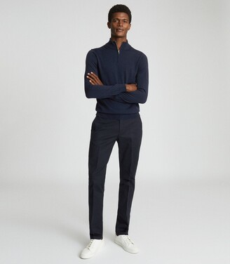 Reiss Eastbury Slim - Slim Fit Chinos in Navy