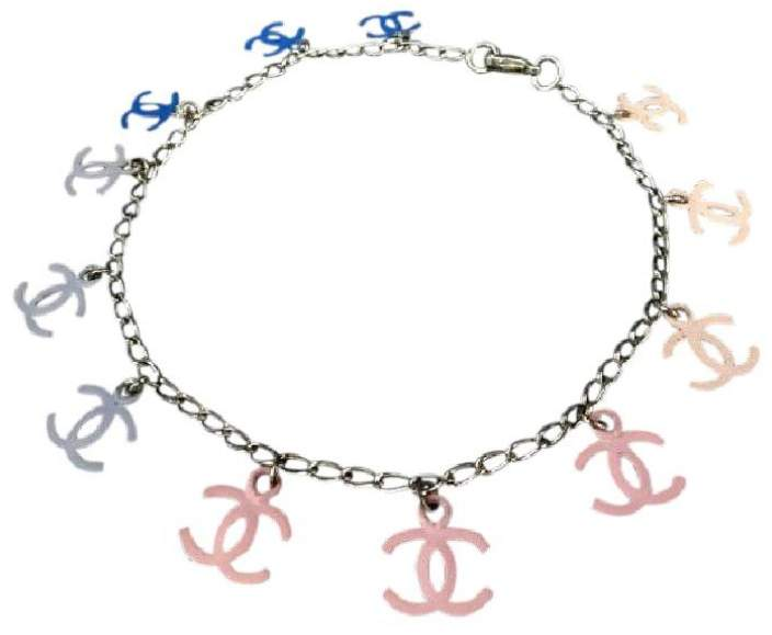 Chanel CC Multicolor Charm Bracelet