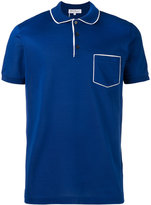Salvatore Ferragamo chest pocket polo shirt