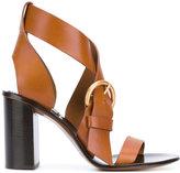 Chloé Nils sandals - women - Leather - 37