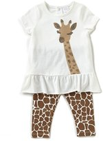 Starting Out Baby Girls 3-24 Months Sequined Giraffe Tunic & Leggings Set