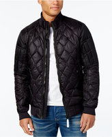 Mens Quilted Bomber Jacket - ShopStyle