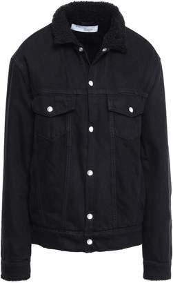 IRO Gravity Shearling-lined Denim Jacket