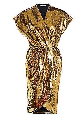 Amen Women's Embellished Wrap Dress