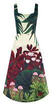 Alice + Olivia Leila Printed Midi Dress