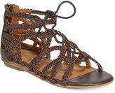 Kenneth Cole Bright Braids Sandals, Little Girls (11-3) and Big Girls (3.5-7)