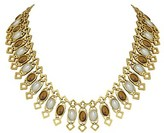House Of Harlow 1960 14k Plated Collar Necklace.
