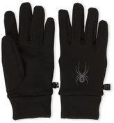 Spyder Black Flex Thermyl Fleece-Lined Gloves