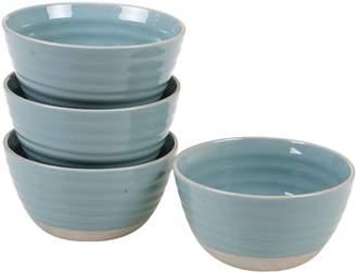 Certified International Artisan Teal 4-pc. Ice Cream Bowl Set