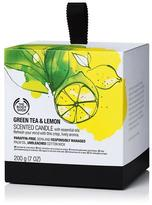 The Body Shop Green Tea & Lemon Scented Candle