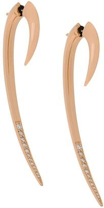 Shaun Leane diamond large Hook earrings