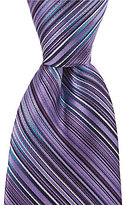 Murano Choice Striped Narrow Silk Tie
