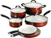 Tramontina Style Ceramica 10-pc. Metallic Copper Cookware Set