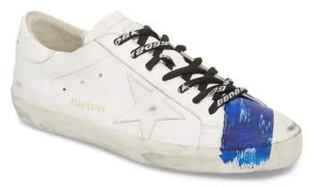 Golden Goose Slide Distressed Taped Sneaker