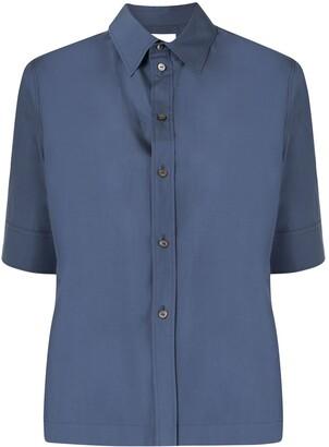 Jil Sander Straight-Fit Short-Sleeved Shirt