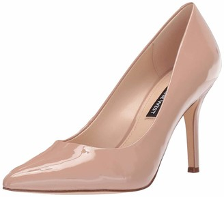 Nine West Womens Flax Pump Barely Nude 6.5 M