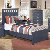 Ashley Furniture Ashley Leo Wood Panel Bed in