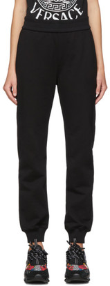 Versace SSENSE Exclusive Black Medusa Laurel Lounge Pants