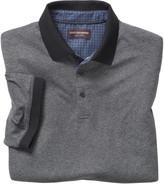 Johnston & Murphy Short-Sleeve Heathered Polo