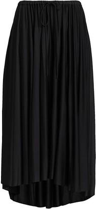 Proenza Schouler White Label Slinky Jersey Pleated Midi Skirt