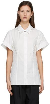 Esse Studios SSENSE Exclusive White Cotton Short Sleeve Shirt
