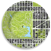 notNeutral Central Park North Meadow Porcelain Park Plate