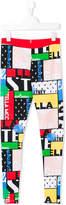 Stella McCartney Teen Tula patchwork-print leggings