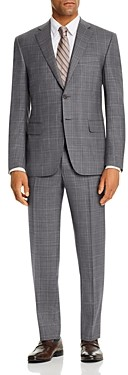 Canali Siena Tonal Windowpane Plaid Classic Fit Suit