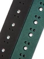 Carven Cut out leather belt