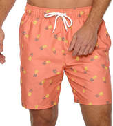 Arizona Pineapple Print Swim Shorts