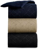 Johnston & Murphy Crisscross Slack-Length Socks