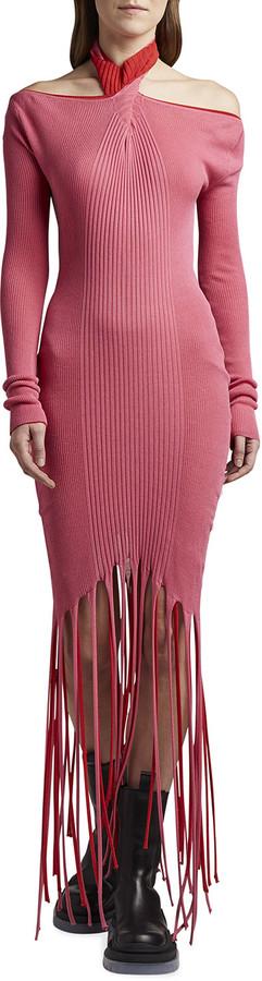 Bottega Veneta Twisted Cold-Shoulder Sweater