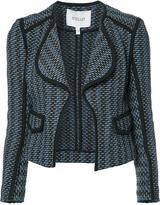 Derek Lam 10 Crosby open cropped jacket - women - Cotton/Acrylic/Polyamide - 0
