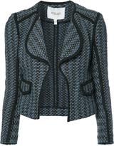 Derek Lam 10 Crosby open cropped jacket - women - Cotton/Acrylic/Polyamide - 4