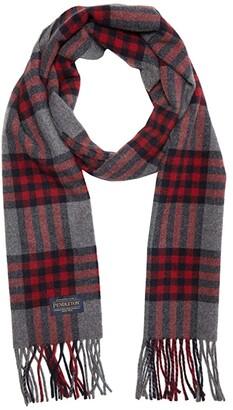 Pendleton Plaid Scarf (Red Check Plaid) Scarves
