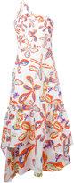 Peter Pilotto floral shift dress - women - Cotton/Spandex/Elastane - 6