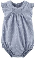 Osh Kosh Baby Girl Swiss Dot Bodysuit