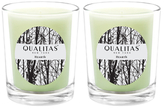 Qualitas Candles Hearth Beeswax Candles (Set of 2) (6.5 OZ)