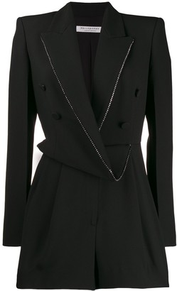 Philosophy di Lorenzo Serafini Draped Blazer Playsuit