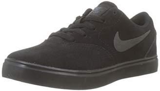 Nike Boys Sb Check Suede (Ps) Skateboarding Shoes, Black (Black/Black-Anthracite 001), 10UK Child