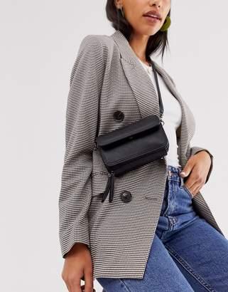 Claudia Canova double compartment purse in black