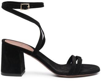 L'Autre Chose Suede Crossover Sandals