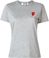 Comme des Garcons logo patch T-shirt - women - Cotton - S