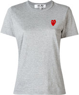 Comme des Garcons logo patch T-shirt - women - Cotton - XS