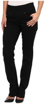 Jag Jeans Peri Pull-On Straight in Black Void Women's Jeans