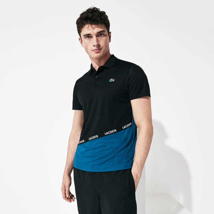 2c11e02b6a Men's SPORT Breathable Color-Block Pique Polo