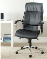 Safavieh Fernando PU Leather Office Chair in Black