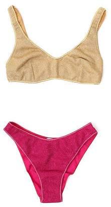 Oseree Contrasting Bikini